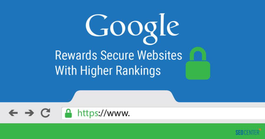 Google Rewards Secure Websites With Higher Rankings