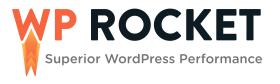 WP Rocket WordPress cashing plugin